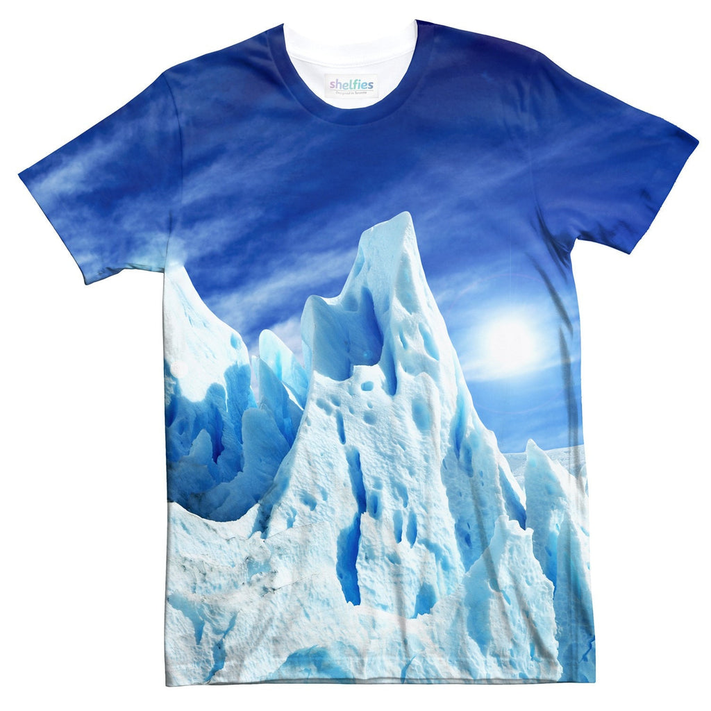 Iceberg T-Shirt-Shelfies-| All-Over-Print Everywhere - Designed to Make You Smile