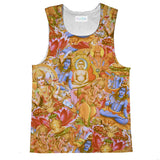 Indian Gods Tank Top-kite.ly-| All-Over-Print Everywhere - Designed to Make You Smile