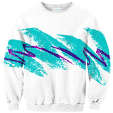 Jazz Wave Sweater-Subliminator-| All-Over-Print Everywhere - Designed to Make You Smile