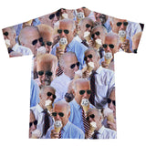 Joe Biden Ice Cream Invasion T-Shirt-Subliminator-| All-Over-Print Everywhere - Designed to Make You Smile