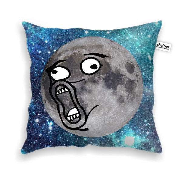 LOL Moon Face Throw Pillow Case-Shelfies-| All-Over-Print Everywhere - Designed to Make You Smile
