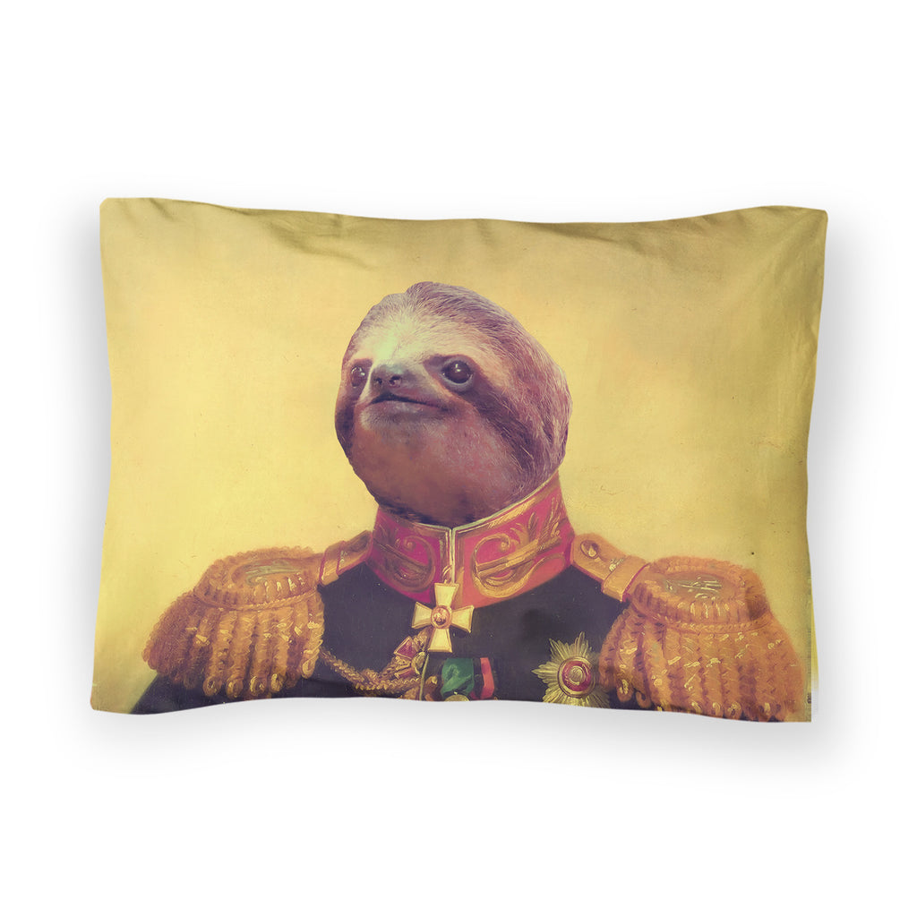 Lil' General Sloth Bed Pillow Case-Shelfies-| All-Over-Print Everywhere - Designed to Make You Smile