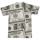 Money Galaxy T-Shirt-kite.ly-| All-Over-Print Everywhere - Designed to Make You Smile