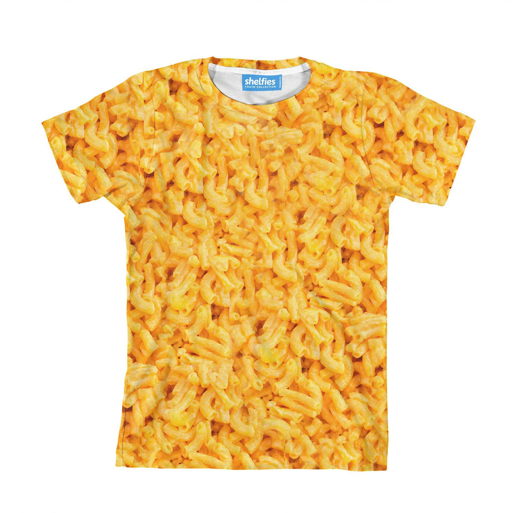 Macaroni Invasion Youth T-Shirt-kite.ly-| All-Over-Print Everywhere - Designed to Make You Smile