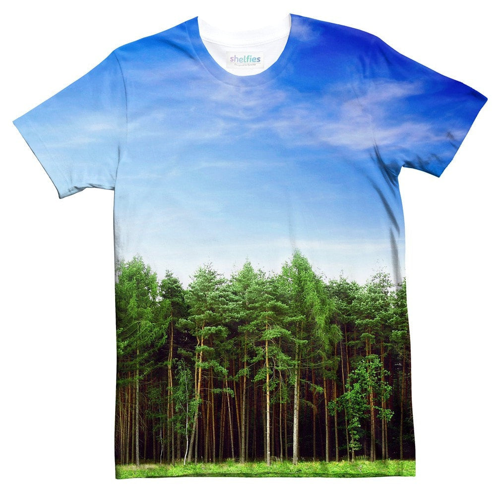 Majestic Forest T-Shirt-Shelfies-| All-Over-Print Everywhere - Designed to Make You Smile