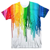 Melted Crayon T-Shirt-Subliminator-| All-Over-Print Everywhere - Designed to Make You Smile