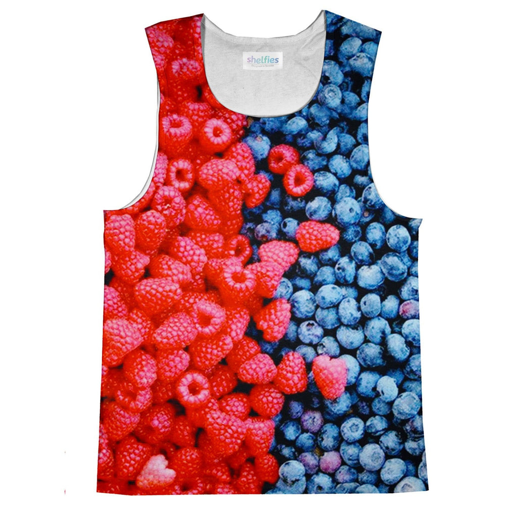 Mixed Berries Tank Top-kite.ly-| All-Over-Print Everywhere - Designed to Make You Smile