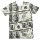 Money Galaxy T-Shirt-Shelfies-| All-Over-Print Everywhere - Designed to Make You Smile
