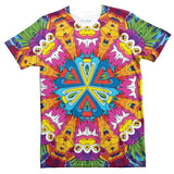 Neon Jungle T-Shirt-Shelfies-| All-Over-Print Everywhere - Designed to Make You Smile