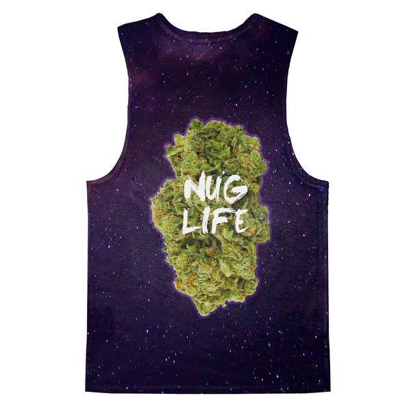 Nug Life Tank Top-kite.ly-XS-| All-Over-Print Everywhere - Designed to Make You Smile