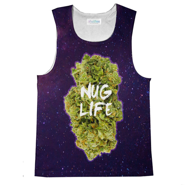 Nug Life Tank Top-kite.ly-| All-Over-Print Everywhere - Designed to Make You Smile