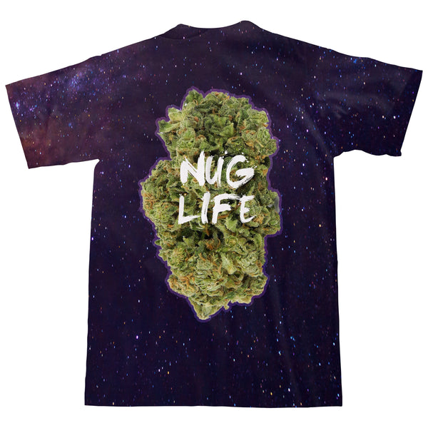 Nug Life T-Shirt-kite.ly-| All-Over-Print Everywhere - Designed to Make You Smile