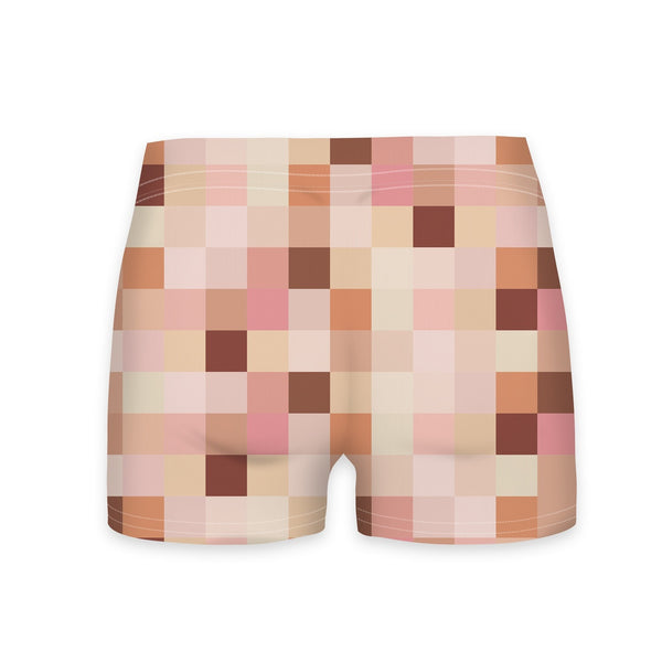 Naked Sims Workout Shorts-Shelfies-| All-Over-Print Everywhere - Designed to Make You Smile