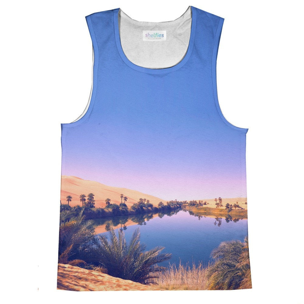 Oasis Tank Top-kite.ly-| All-Over-Print Everywhere - Designed to Make You Smile