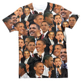 Barack Obama Face T-Shirt-Subliminator-| All-Over-Print Everywhere - Designed to Make You Smile