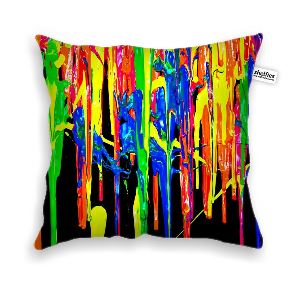 Paint Splatter Throw Pillow Case-Shelfies-| All-Over-Print Everywhere - Designed to Make You Smile