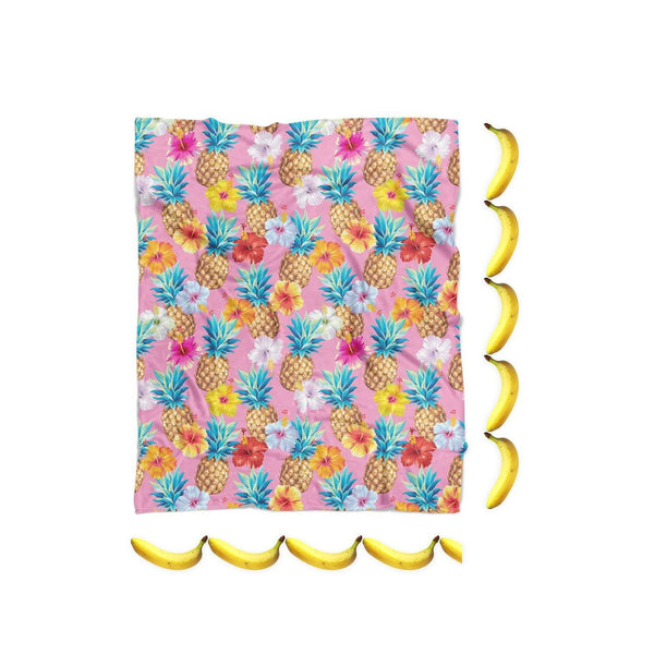 Pineapple Punch Blanket-Gooten-| All-Over-Print Everywhere - Designed to Make You Smile