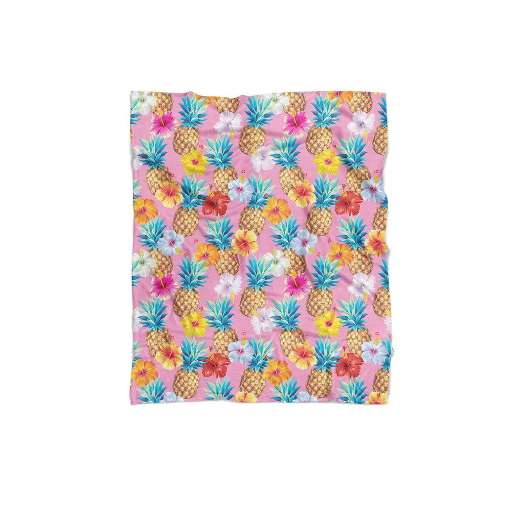 Pineapple Punch Blanket-Gooten-Regular-| All-Over-Print Everywhere - Designed to Make You Smile