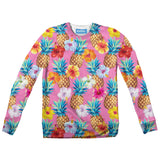 Pineapple Punch Youth Sweater-Shelfies-| All-Over-Print Everywhere - Designed to Make You Smile