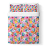 Pineapple Punch Duvet Cover-Gooten-Queen-| All-Over-Print Everywhere - Designed to Make You Smile