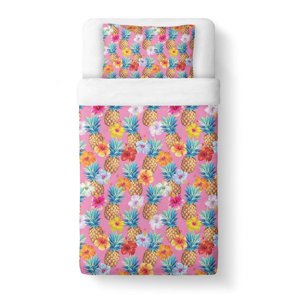 Pineapple Punch Duvet Cover-Gooten-Twin-| All-Over-Print Everywhere - Designed to Make You Smile