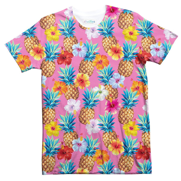 Pineapple Punch T-Shirt-kite.ly-| All-Over-Print Everywhere - Designed to Make You Smile