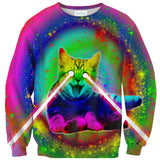 Psycho Kitty Sweater-Shelfies-| All-Over-Print Everywhere - Designed to Make You Smile