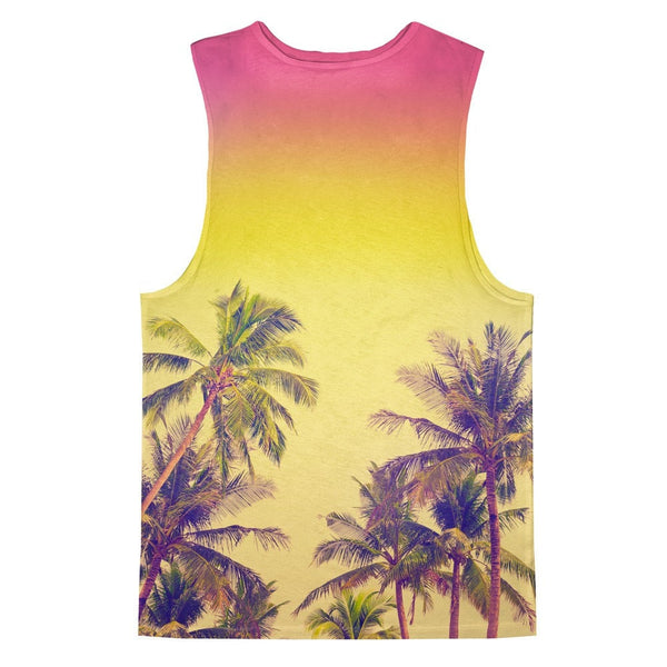 Palm Treez Tank Top-kite.ly-XS-| All-Over-Print Everywhere - Designed to Make You Smile