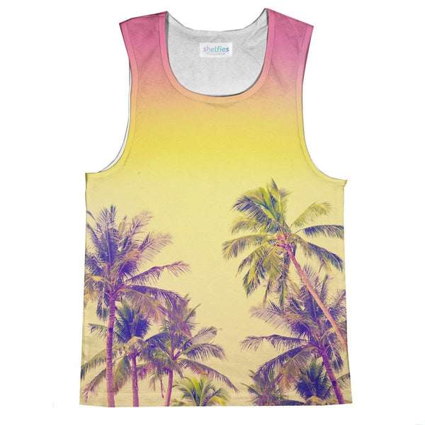 Palm Treez Tank Top-kite.ly-| All-Over-Print Everywhere - Designed to Make You Smile
