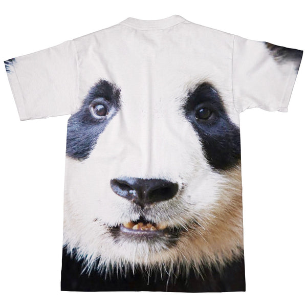 Panda Face T-Shirt-kite.ly-| All-Over-Print Everywhere - Designed to Make You Smile