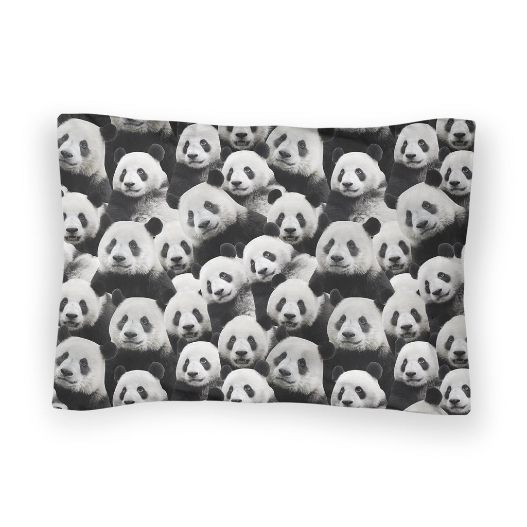 Panda Invasion Bed Pillow Case-Shelfies-| All-Over-Print Everywhere - Designed to Make You Smile