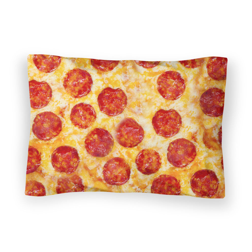 Pizza Invasion Bed Pillow Case-Shelfies-| All-Over-Print Everywhere - Designed to Make You Smile