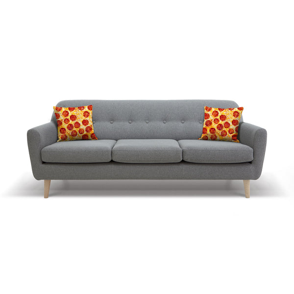 Pizza Invasion Throw Pillow Case-Shelfies-| All-Over-Print Everywhere - Designed to Make You Smile