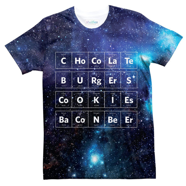 Periodic Table T-Shirt-kite.ly-| All-Over-Print Everywhere - Designed to Make You Smile
