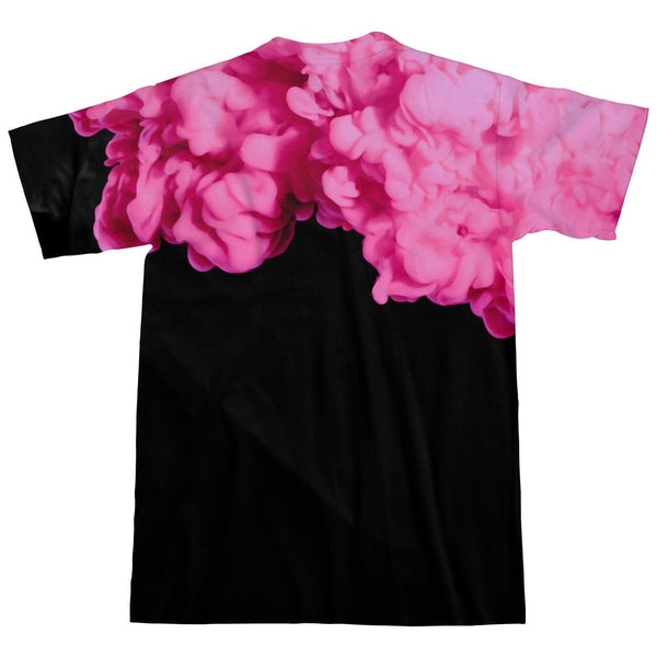 Pink Smoke T-Shirt-kite.ly-| All-Over-Print Everywhere - Designed to Make You Smile