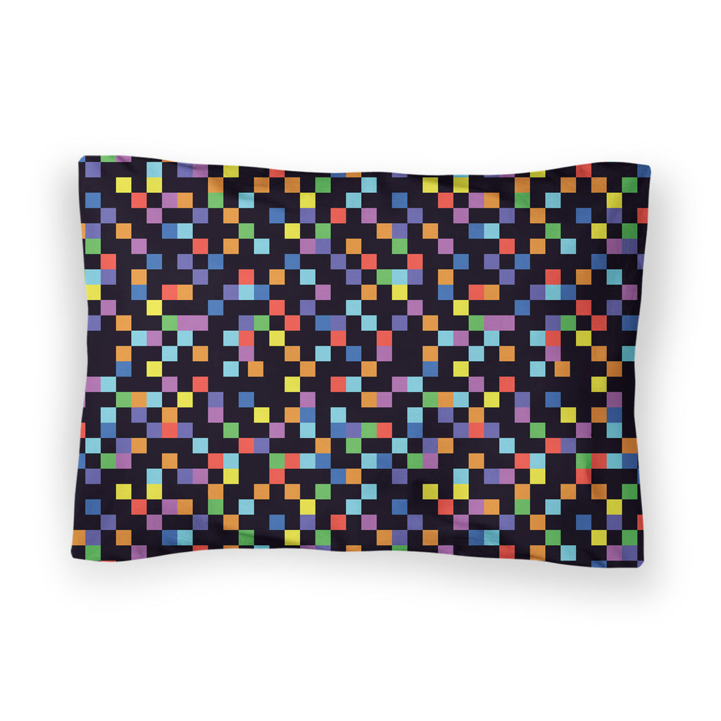 Pixel Bed Pillow Case-Shelfies-| All-Over-Print Everywhere - Designed to Make You Smile