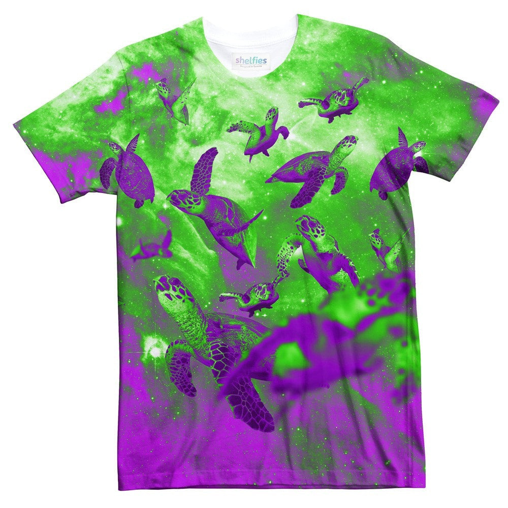 Purple Turtles T-Shirt-kite.ly-| All-Over-Print Everywhere - Designed to Make You Smile