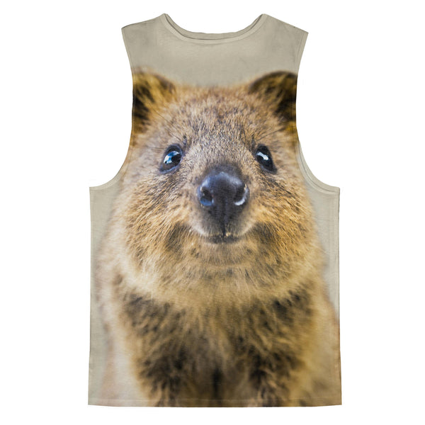 Quokka Tank Top-kite.ly-| All-Over-Print Everywhere - Designed to Make You Smile