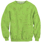 Slime Sweater-Shelfies-| All-Over-Print Everywhere - Designed to Make You Smile