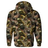 Sloth Invasion Hoodie-Subliminator-| All-Over-Print Everywhere - Designed to Make You Smile