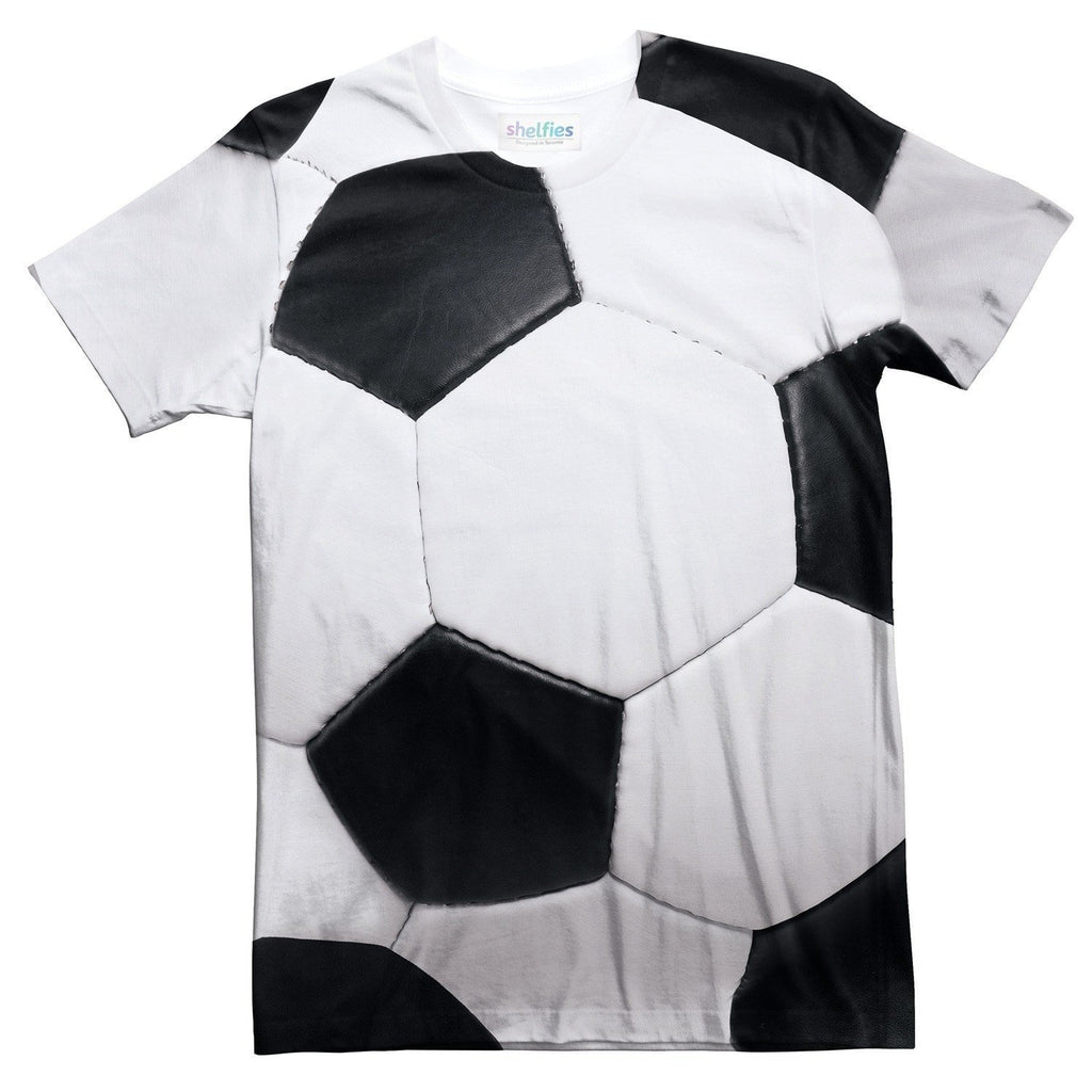 Soccer Ball T-Shirt-Shelfies-| All-Over-Print Everywhere - Designed to Make You Smile