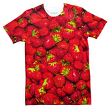 Strawberry Invasion T-Shirt-Subliminator-| All-Over-Print Everywhere - Designed to Make You Smile