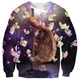 Stripper Sloth Sweater-Subliminator-| All-Over-Print Everywhere - Designed to Make You Smile