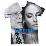Talk Bernie To Me T-Shirt-kite.ly-| All-Over-Print Everywhere - Designed to Make You Smile