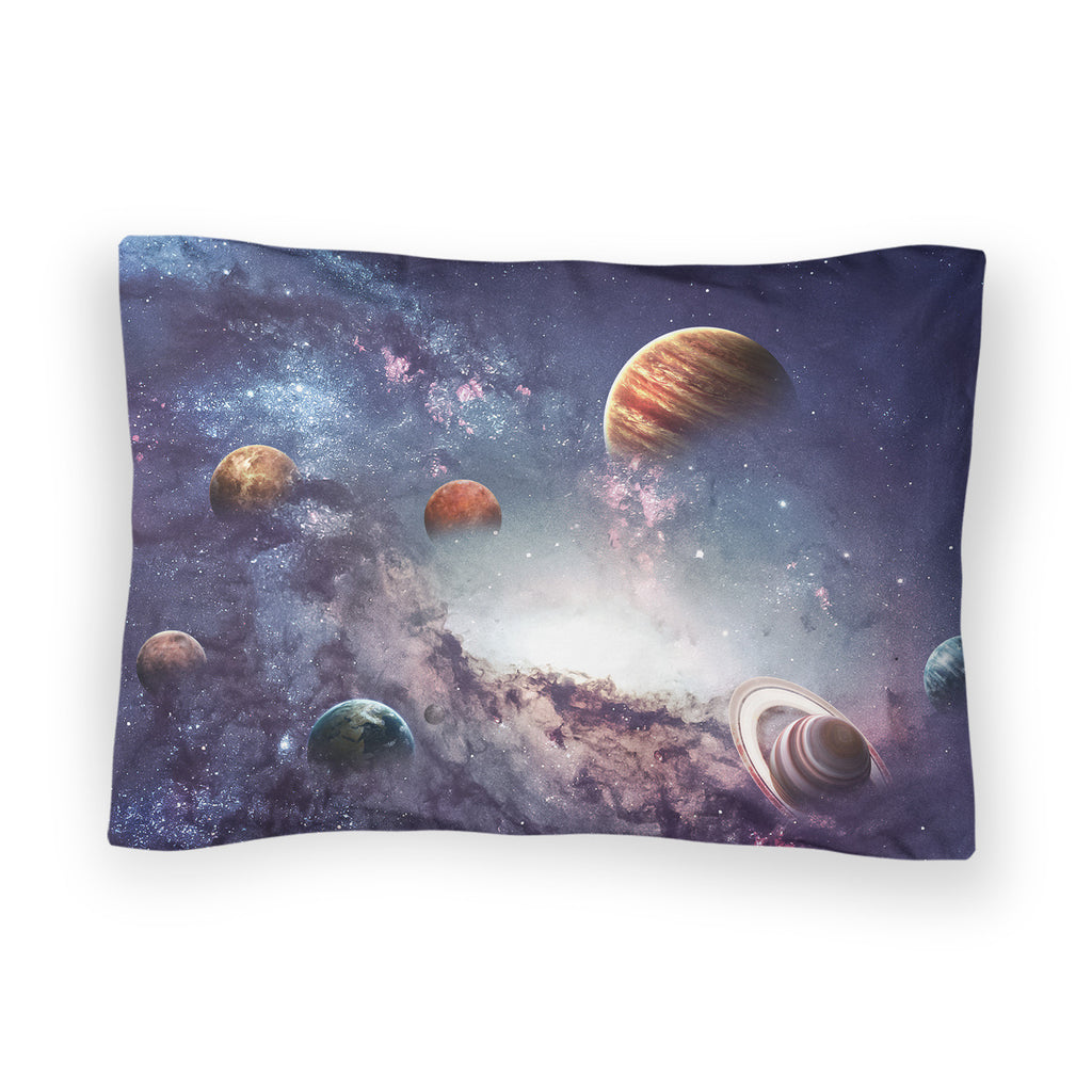The Cosmos Bed Pillow Case-Shelfies-| All-Over-Print Everywhere - Designed to Make You Smile