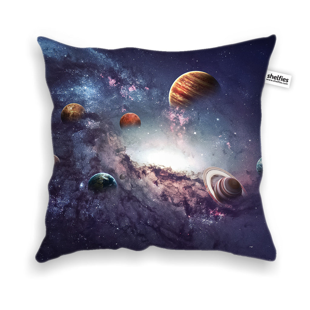 The Cosmos Throw Pillow Case-Shelfies-| All-Over-Print Everywhere - Designed to Make You Smile