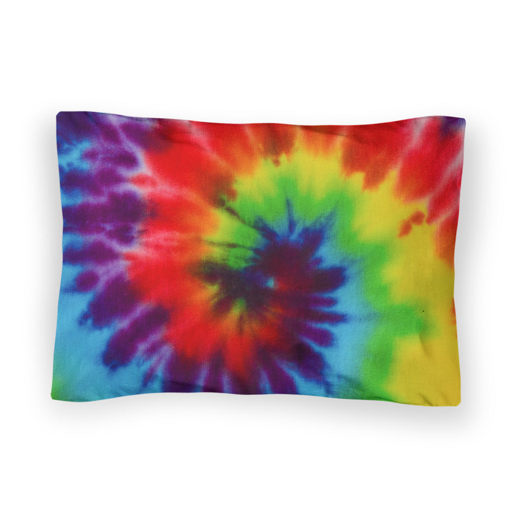 Tie Dye Bed Pillow Case-Shelfies-| All-Over-Print Everywhere - Designed to Make You Smile
