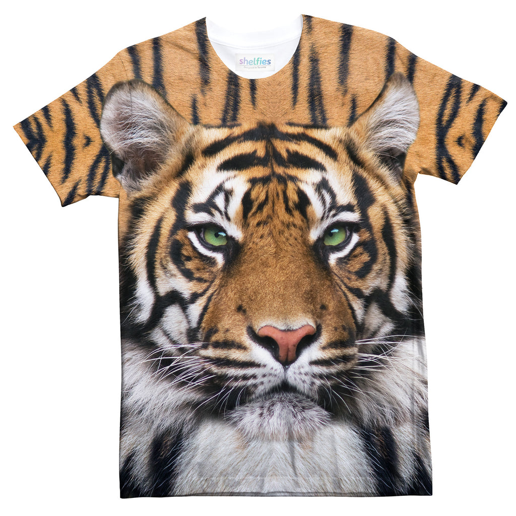 Tiger T-Shirt-Subliminator-| All-Over-Print Everywhere - Designed to Make You Smile
