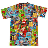 Toy Robots T-Shirt-Subliminator-| All-Over-Print Everywhere - Designed to Make You Smile
