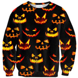 Trick Or Treat Invasion Sweater-Shelfies-| All-Over-Print Everywhere - Designed to Make You Smile